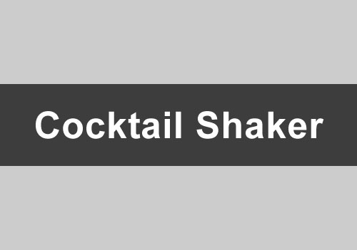 Cocktail Shaker Angebot
