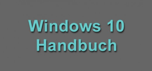 Windows 10 Handbuch